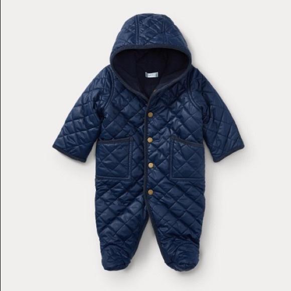 6d3ceb9b Ralph Lauren Jackets & Coats | Baby Boy Quilted Bunting | Poshmark